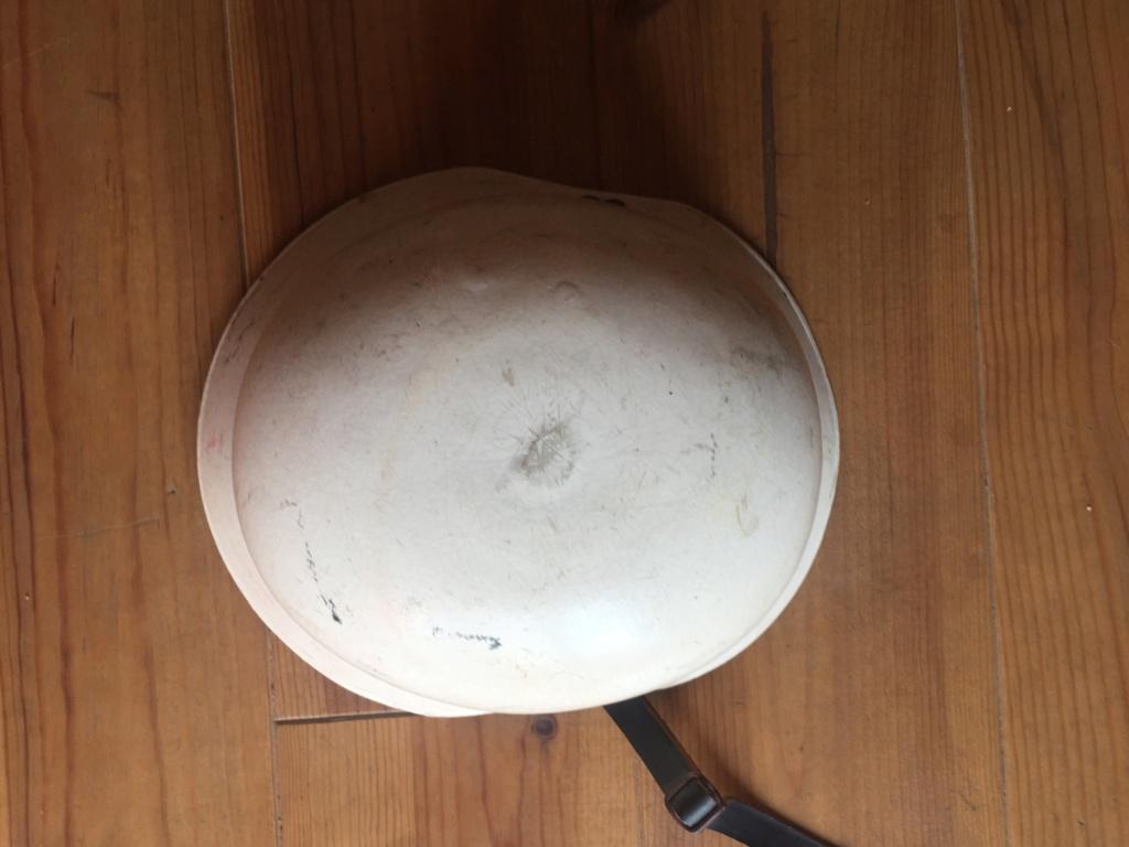 Casque blanc résine D00a4310