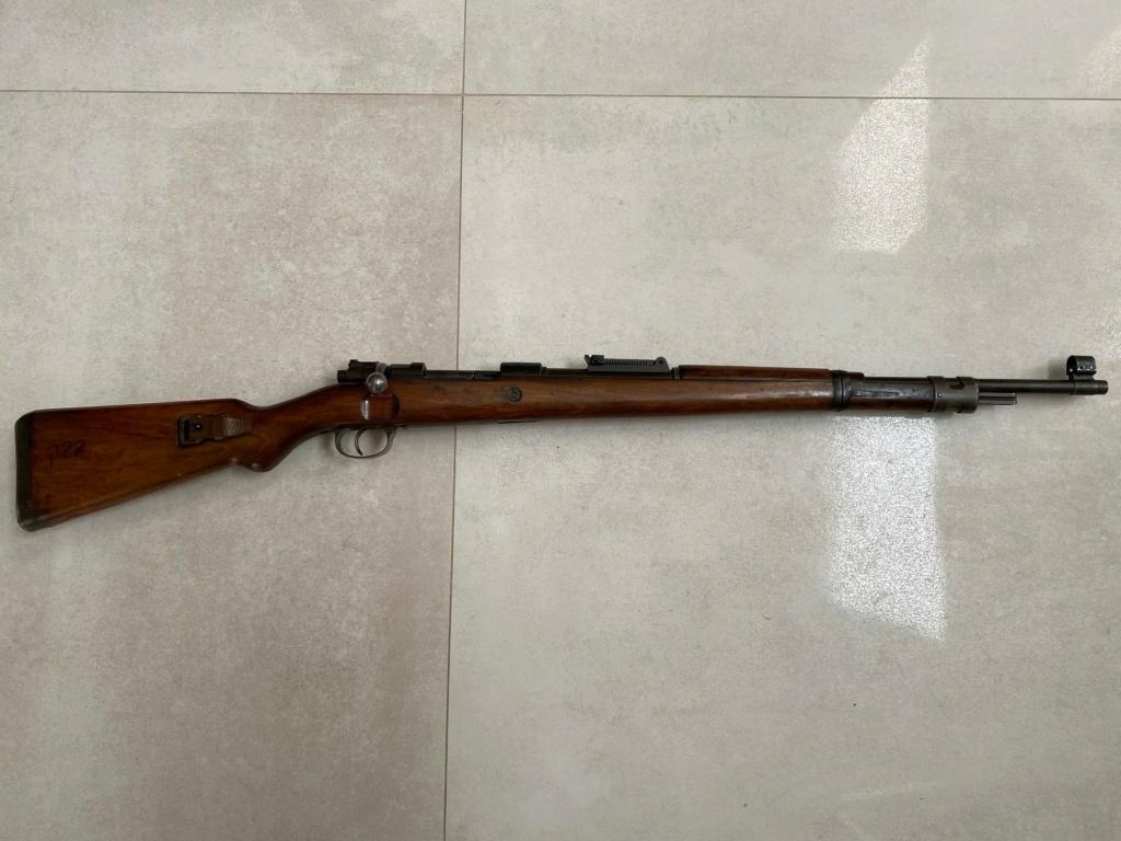 FN Hestal Israélien 22 LR, rayure de canon Fn510