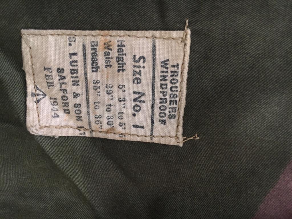 Veste Airborne troop et trousers windproof Img_0115