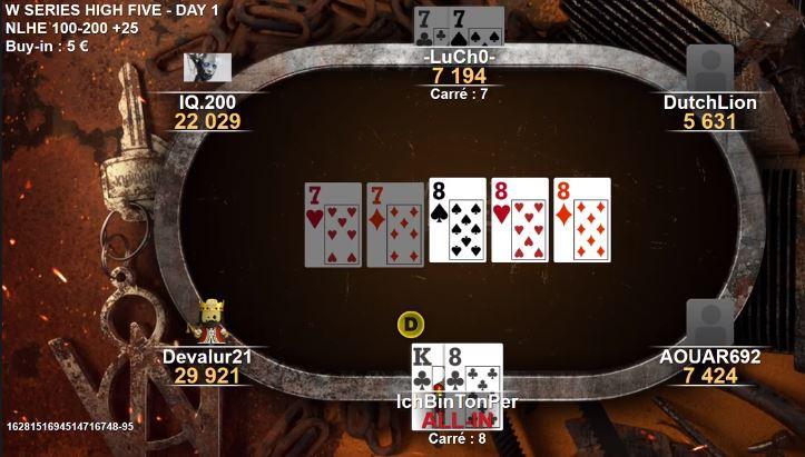 Ca c'est une rencontre !! Poker110