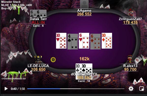 Ca c'est une rencontre !! Poker111