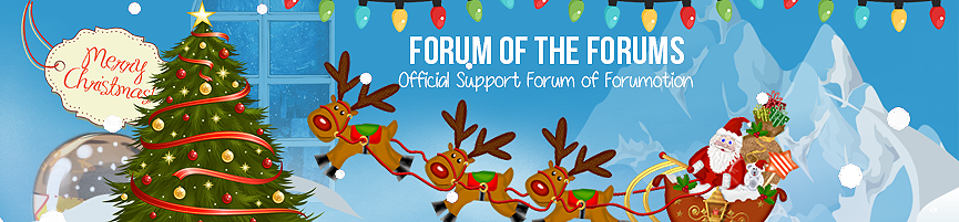 Christmas Banner Competition (The  entries) - Page 2 Forumo11