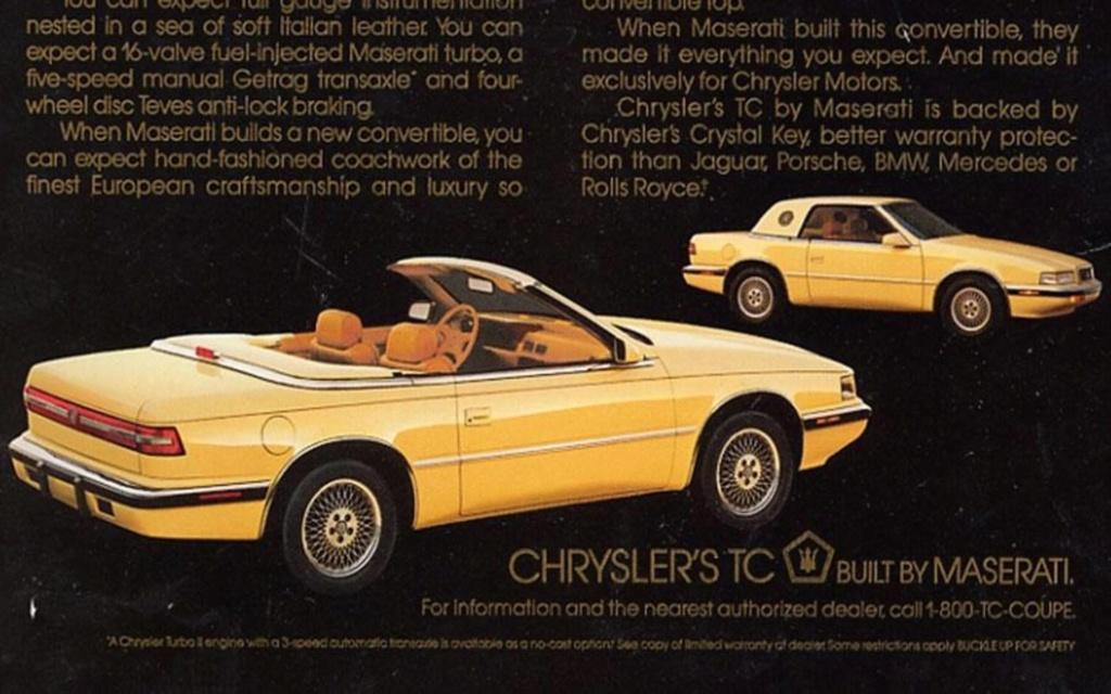 Un peu d'histoire sur la Chrysler TC by Maserati 13101910