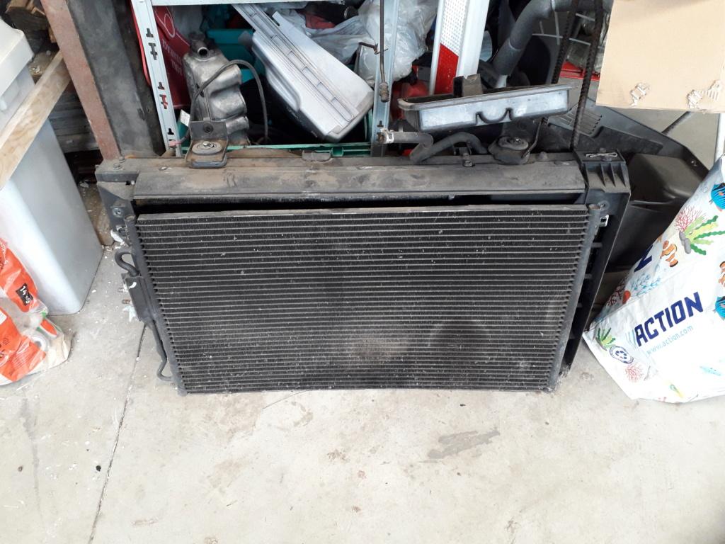 Radiateur + radiateur de clim S4 2.5L CRD 2004 20200734
