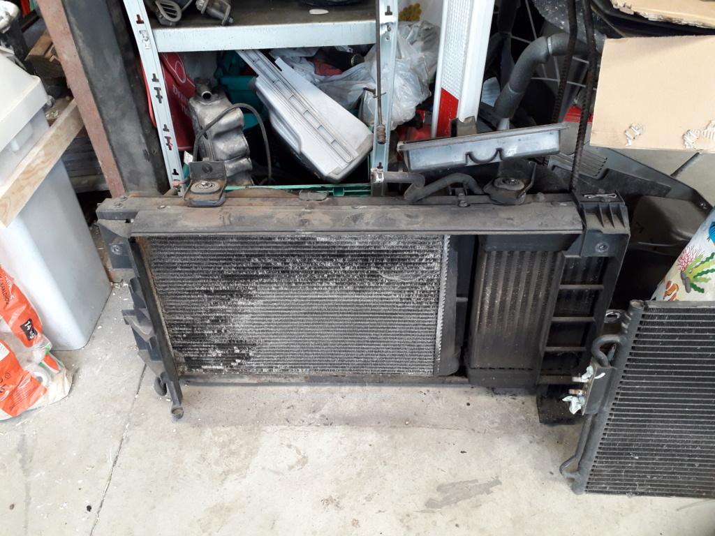 Radiateur + radiateur de clim S4 2.5L CRD 2004 20200735