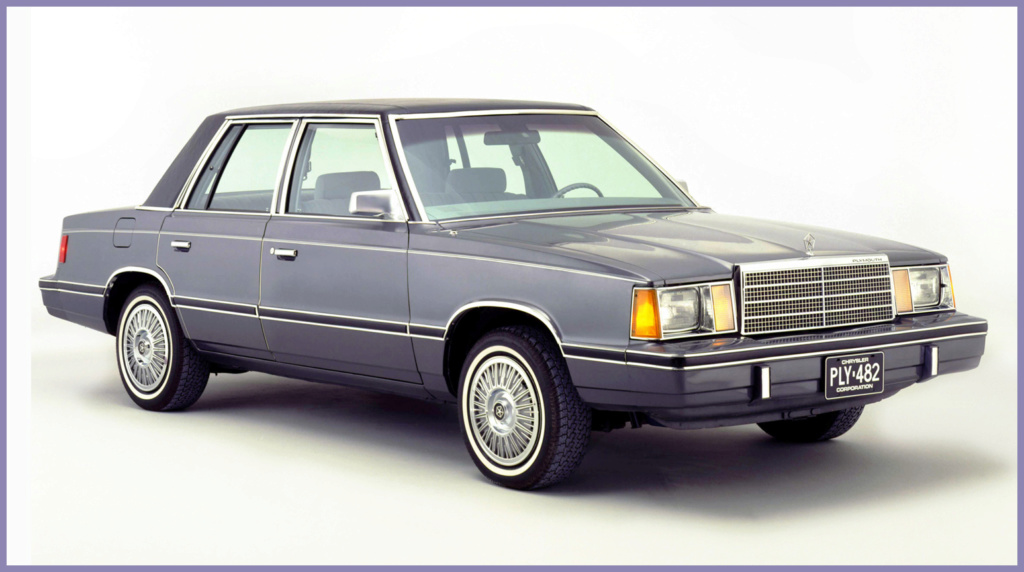 La Plymouth Reliant  45230810