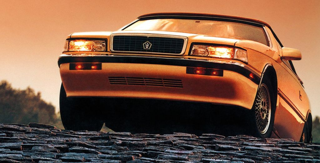 Un peu d'histoire sur la Chrysler TC by Maserati 4627_w10