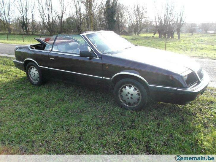 Chrysler Lebaron cabrio 1990 2.5L _86_1113