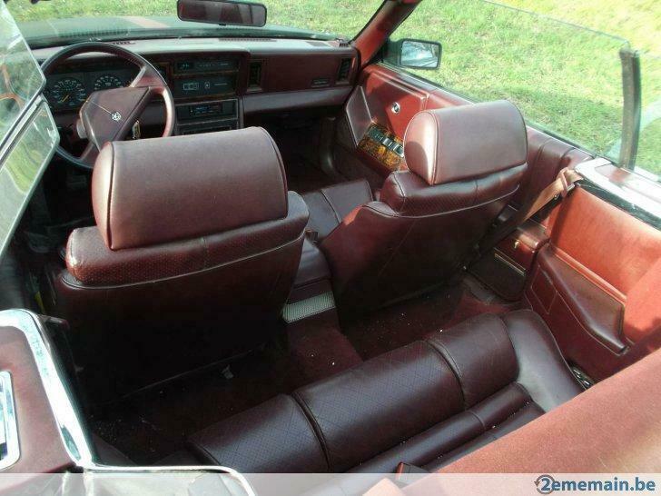 Chrysler Lebaron cabrio 1990 2.5L _86_1312