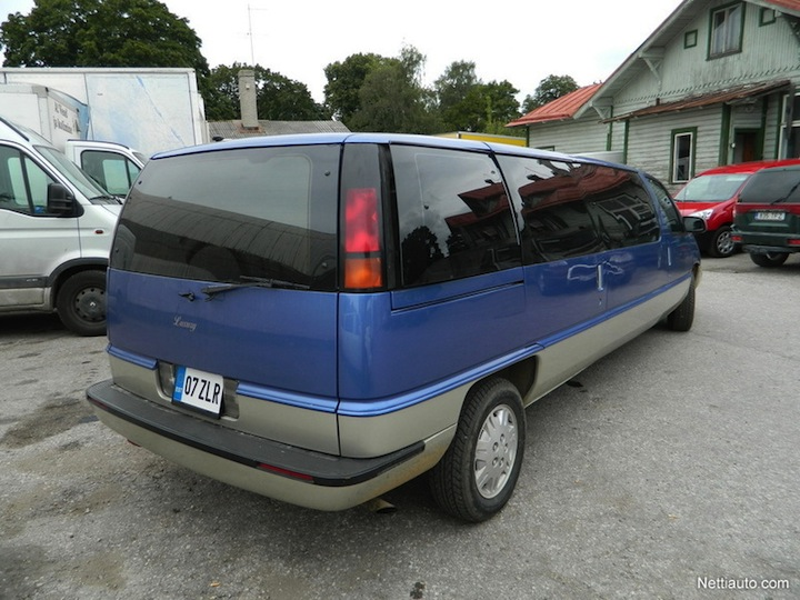 L'APV version limousine Chevro11
