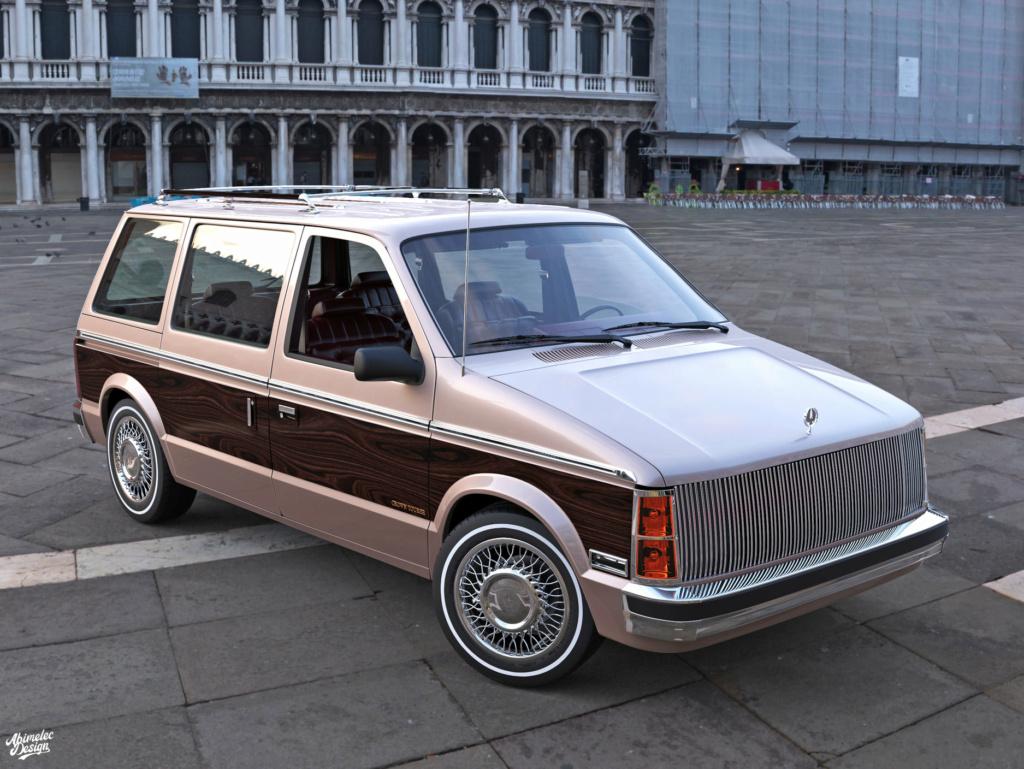 Dessin 3D: Chrysler Imprerial Minivan (S1) Chrysl45