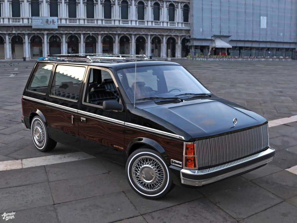 Dessin 3D: Chrysler Imprerial Minivan (S1) Chrysl46