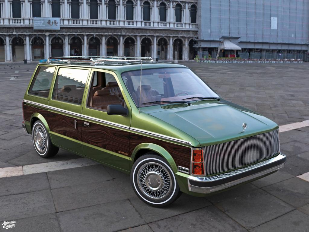 Dessin 3D: Chrysler Imprerial Minivan (S1) Chrysl47