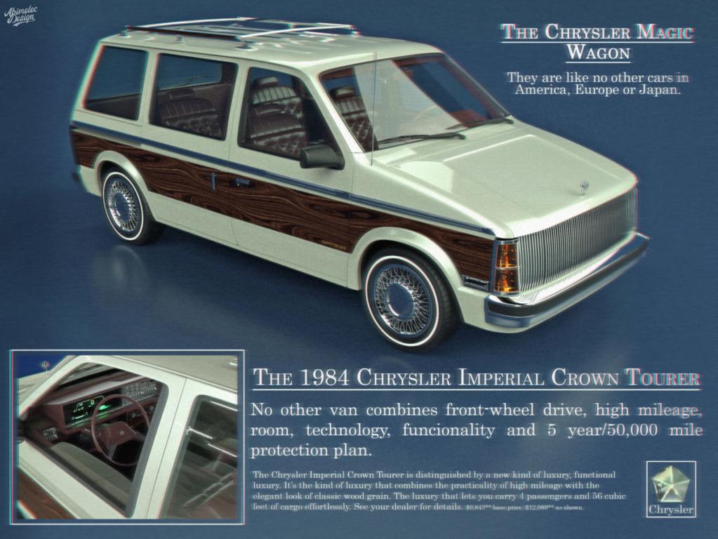Dessin 3D: Chrysler Imprerial Minivan (S1) Chrysl48