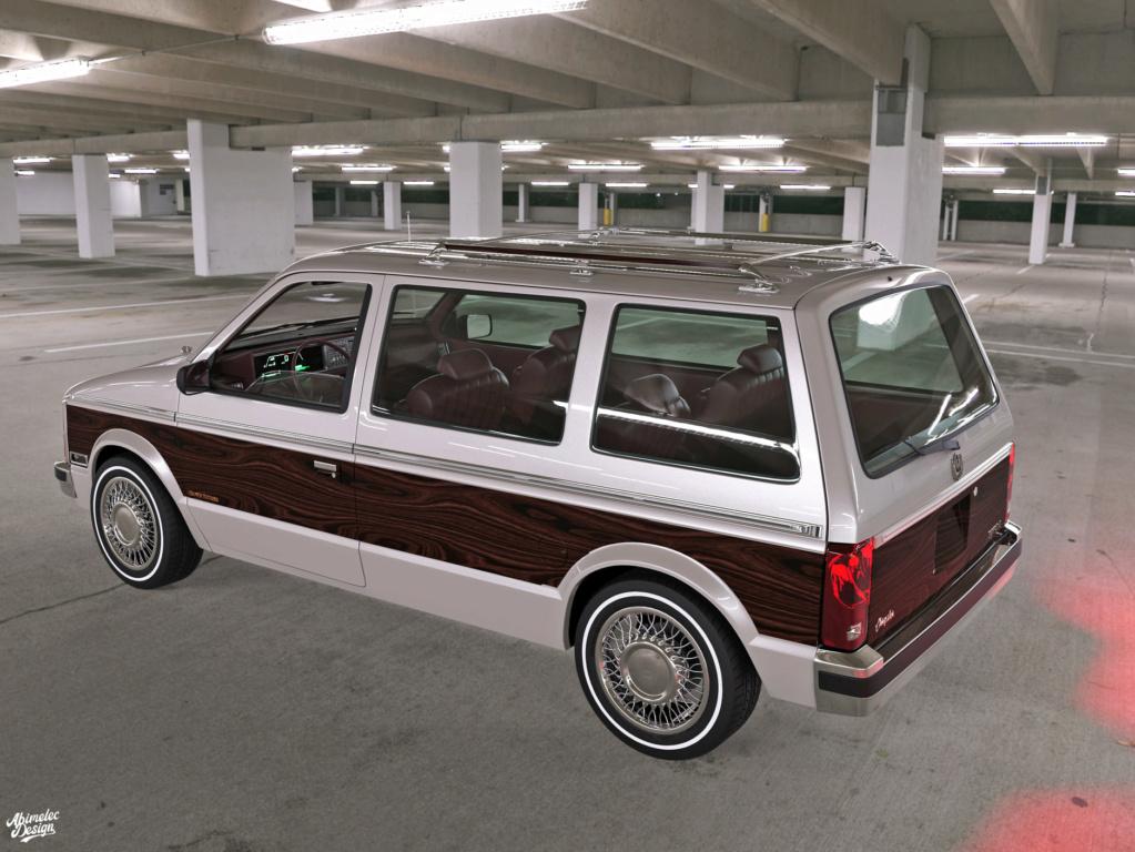 Dessin 3D: Chrysler Imprerial Minivan (S1) Chrysl51