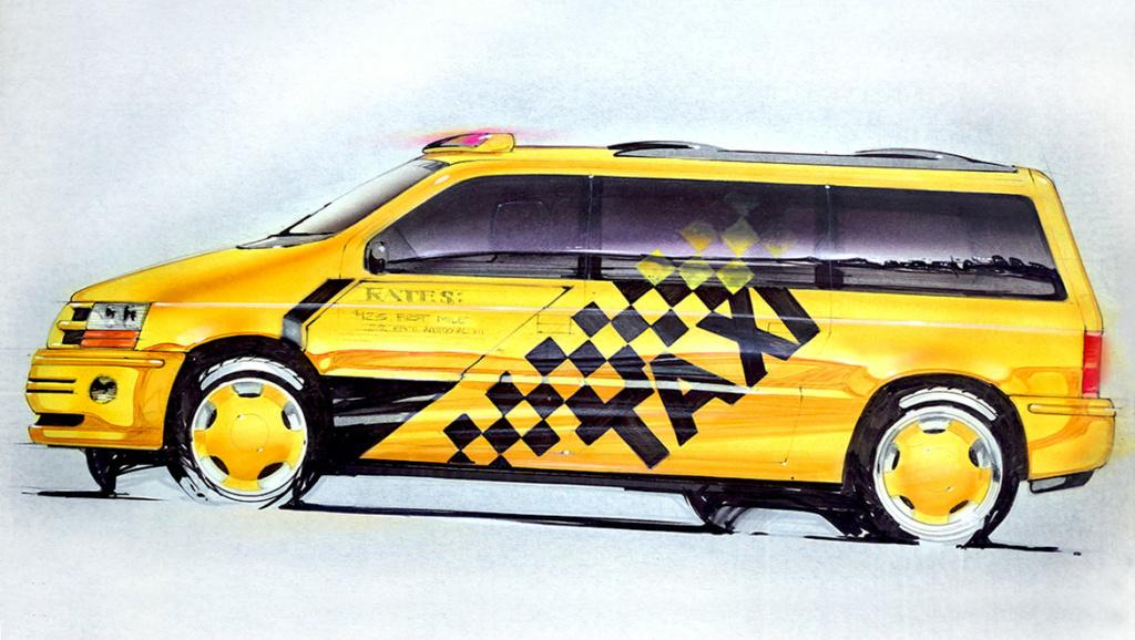 Grand Voyager Taxi par Michael Santoro Chrysl55