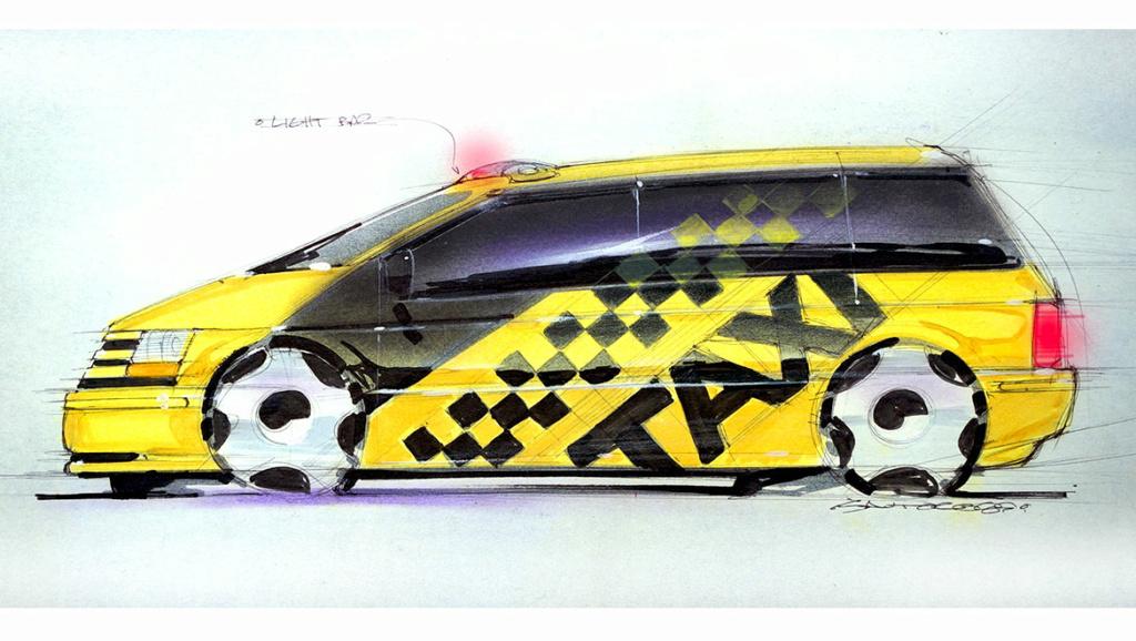 Grand Voyager Taxi par Michael Santoro Chrysl56