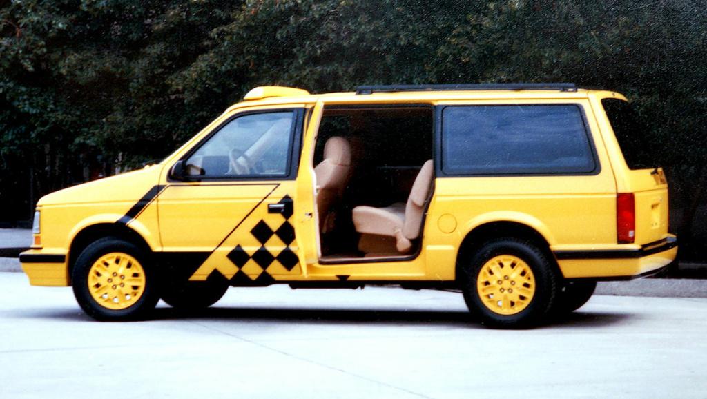 Grand Voyager Taxi par Michael Santoro Chrysl57