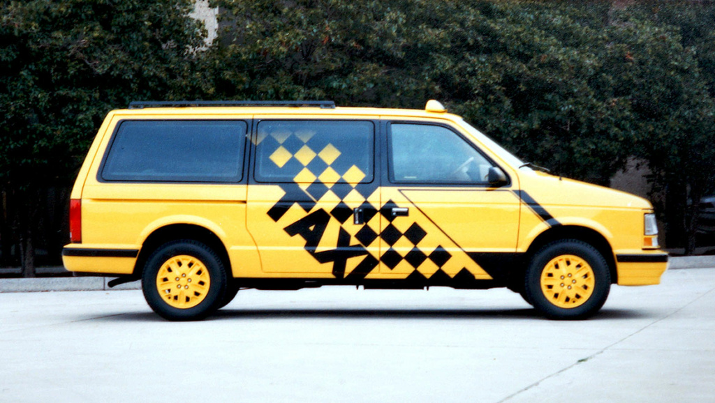 Grand Voyager Taxi par Michael Santoro Chrysl58