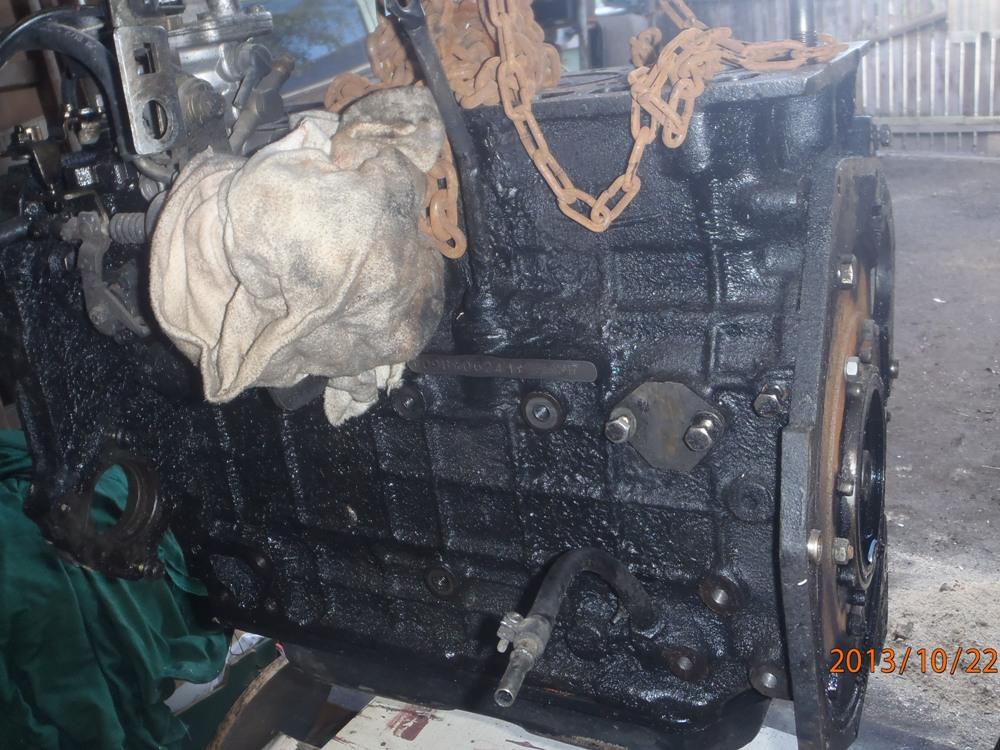Où se trouve le numéro moteur sur un 2.5 td ?  Pa220010