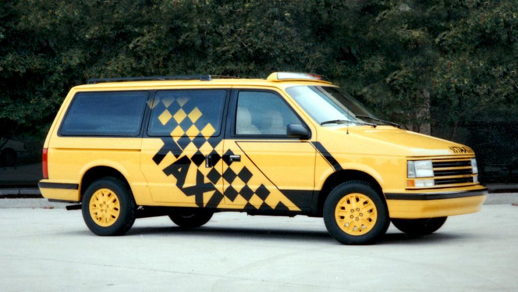 Grand Voyager Taxi par Michael Santoro Taxi-l10