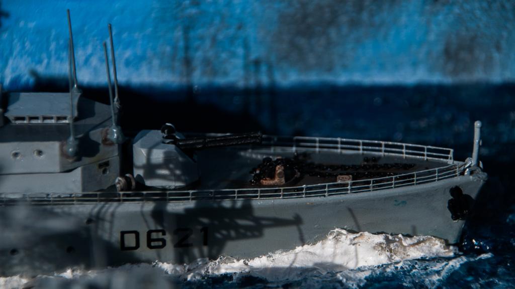L'Alsacien et le Surcouf 1:400 Heller (plastique) 0311