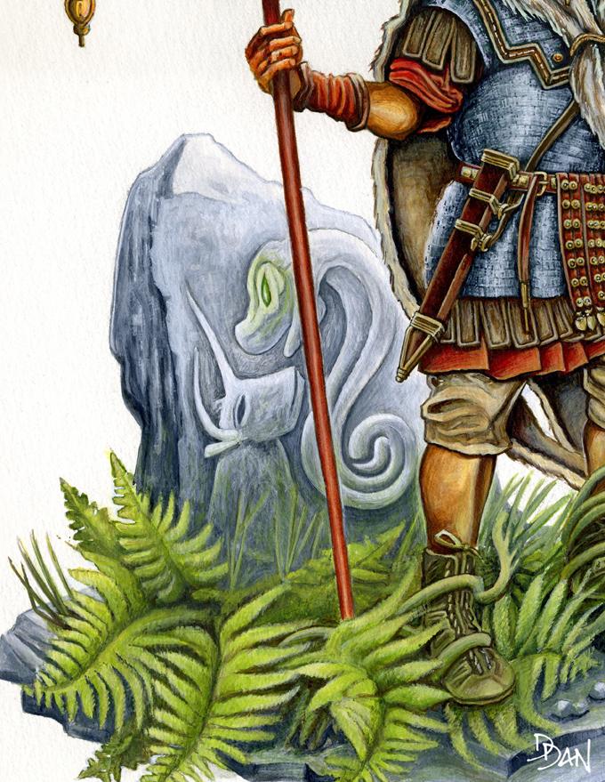 Illus de Dan_Le vexillaire de la Legio IX Hispana Ed6_ve10