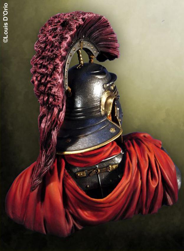 Buste d'optio romain (Pegaso 1/10)_Styles et tenues Edan_o12