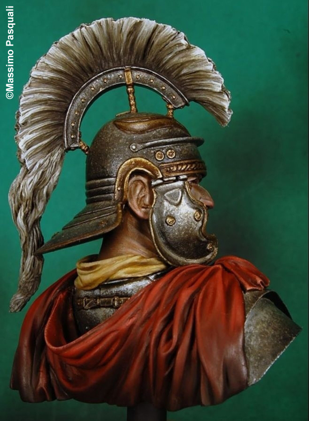 Buste d'optio romain (Pegaso 1/10)_Styles et tenues Edan_o13