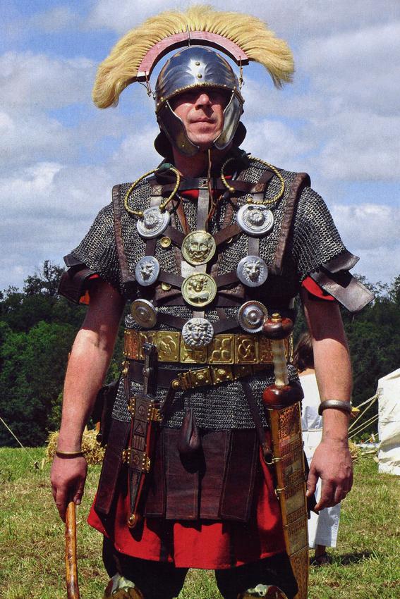 Buste d'optio romain (Pegaso 1/10)_Styles et tenues Edan_o15