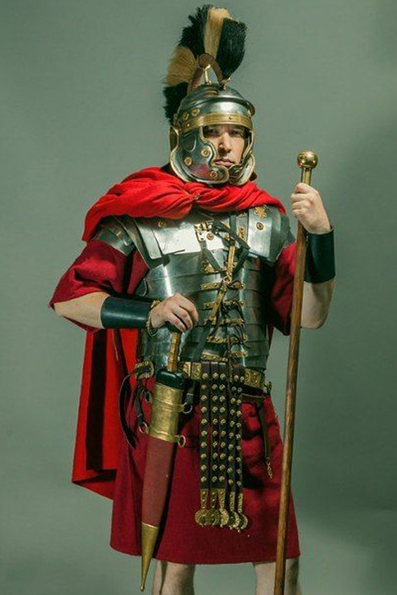 Buste d'optio romain (Pegaso 1/10)_Styles et tenues Edan_o16