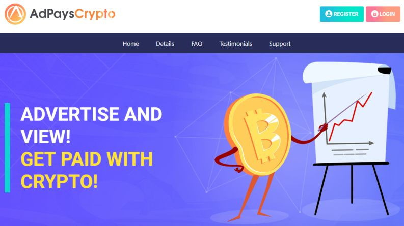 OPORTUNIDADE [Risco - Teste] AdPaysCrypto Apc10