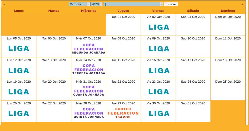 Calendario Oficial // Temporada 6 10_oct10