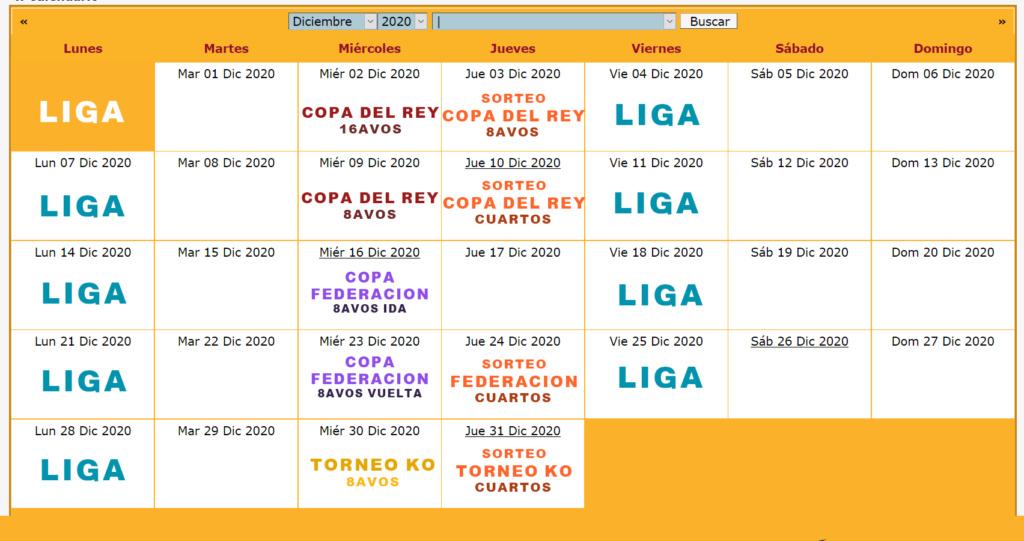 Calendario Oficial // Temporada 6 12_dic10