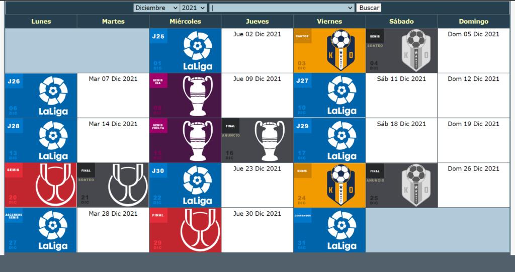 Calendario Oficial // Temporada 8 12_dic11