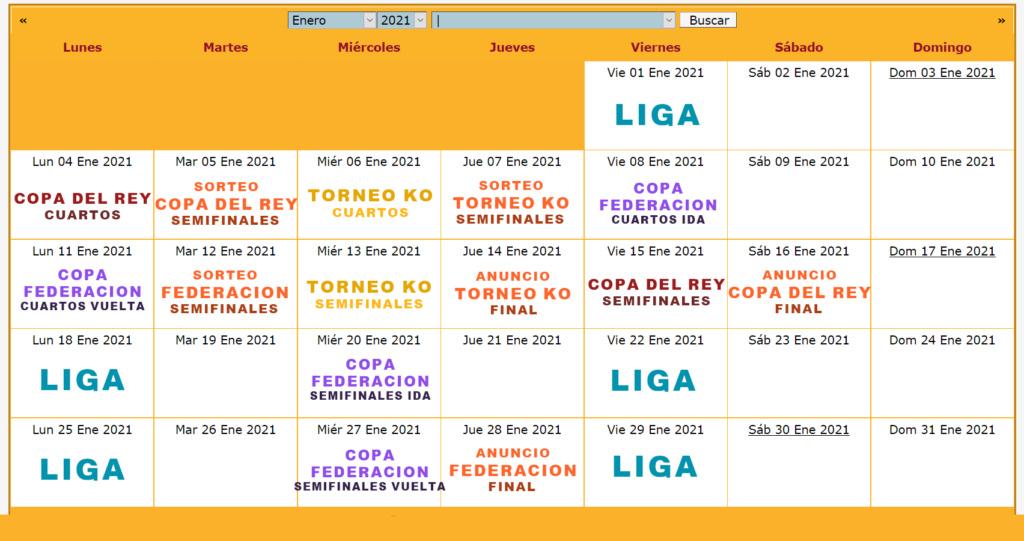 Calendario Oficial // Temporada 6 1_ener10