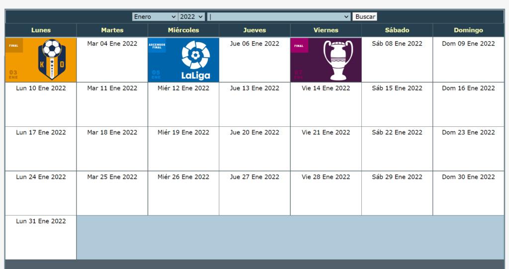 Calendario Oficial // Temporada 8 1_ener11
