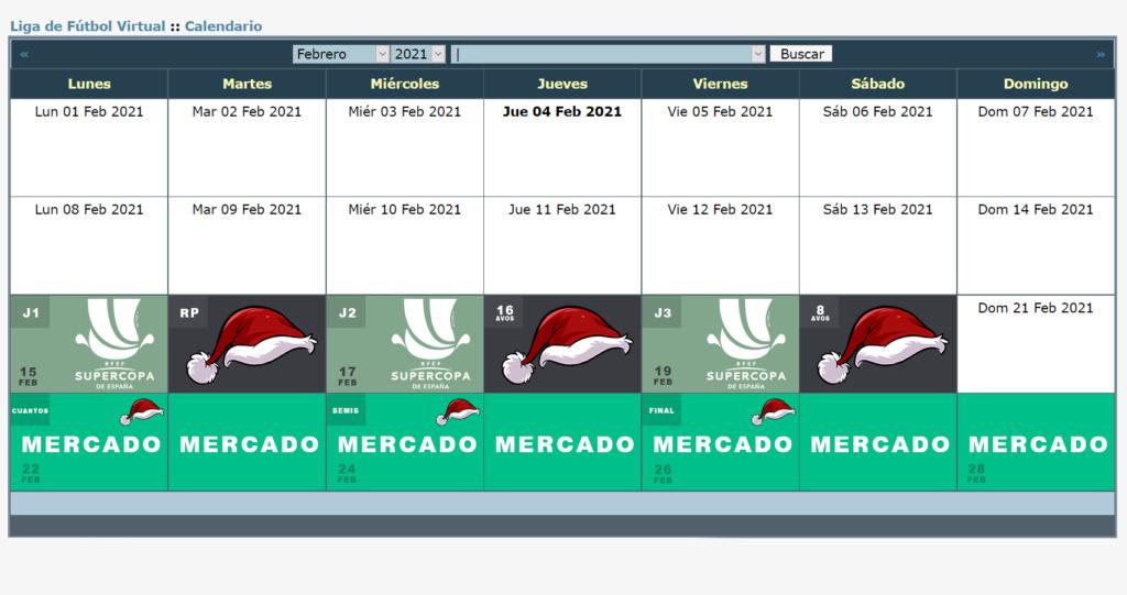 Calendario Oficial // Temporada 7 2_febr11