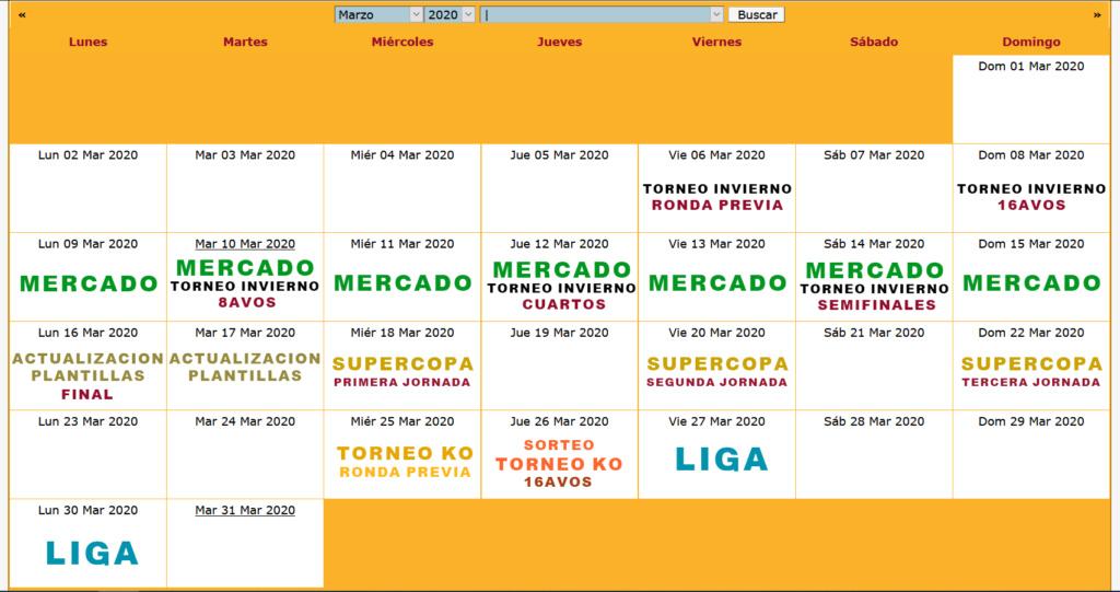 Calendario Oficial // Temporada 5 3_marz10