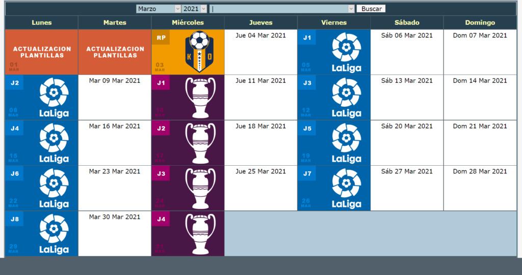 Calendario Oficial // Temporada 7 3_marz11