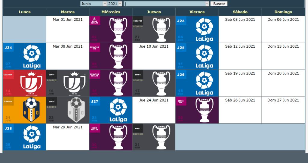 Calendario Oficial // Temporada 7 6_juni11