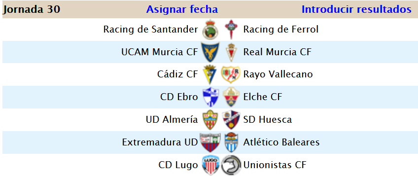 Jornada 30 (27-12) Screen49