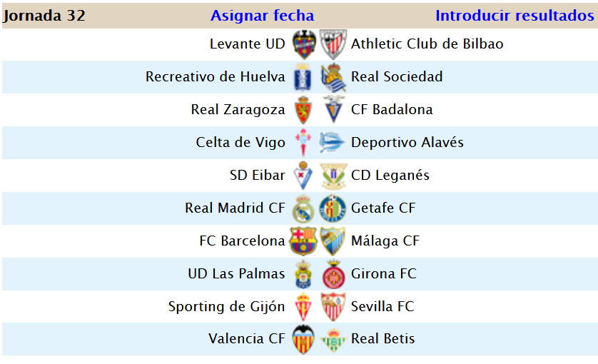 Jornada 32 (3-1) Screen55
