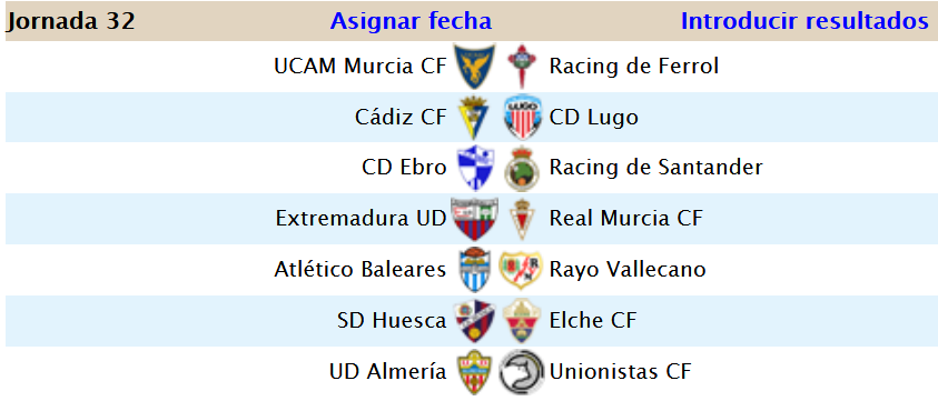 Jornada 32 (3-1) Screen57
