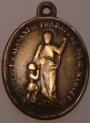 San José de Calasanz / Beato Pompilio Maria Pirroti S-XIX P1030314