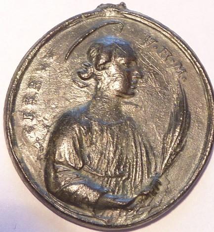 San Oroncio de Lecce / Santa Irene de Tesalónica., S. XVII P1030329