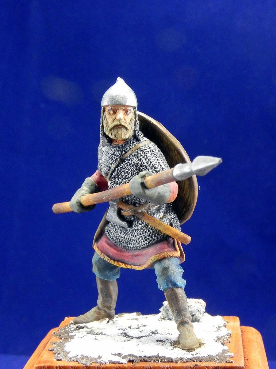 Новгородский дружинник, XIII век 10110