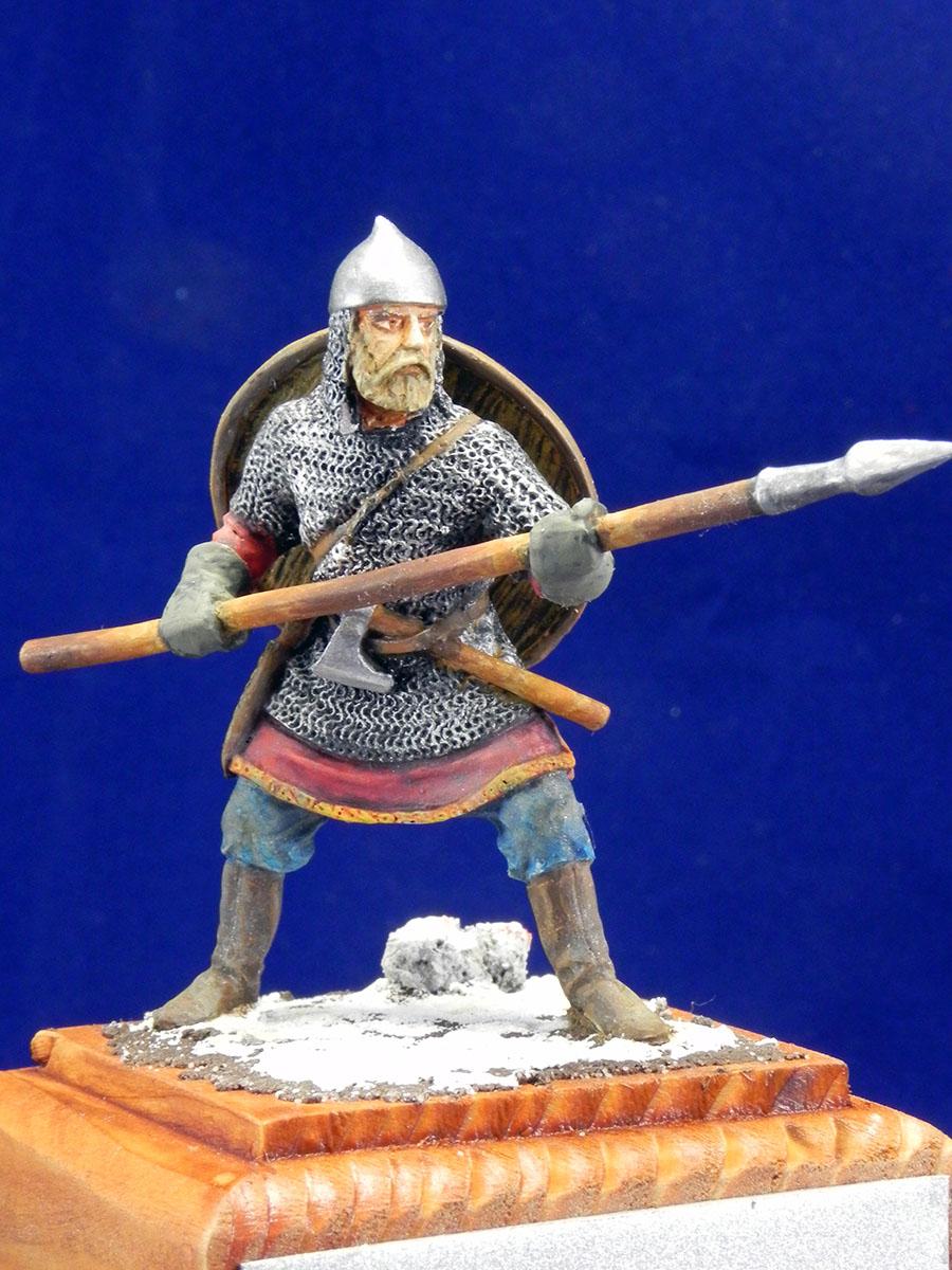 Новгородский дружинник, XIII век 10210