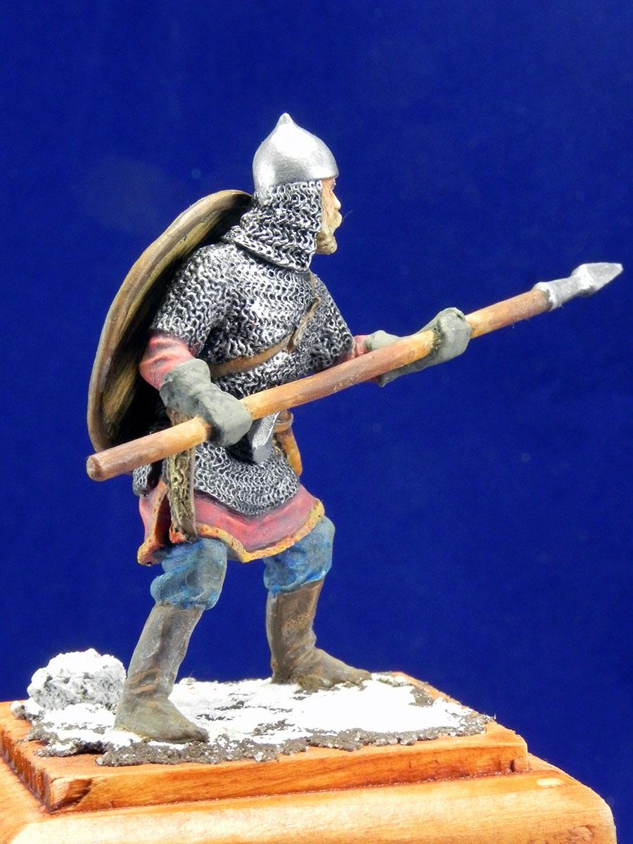 Новгородский дружинник, XIII век 10310