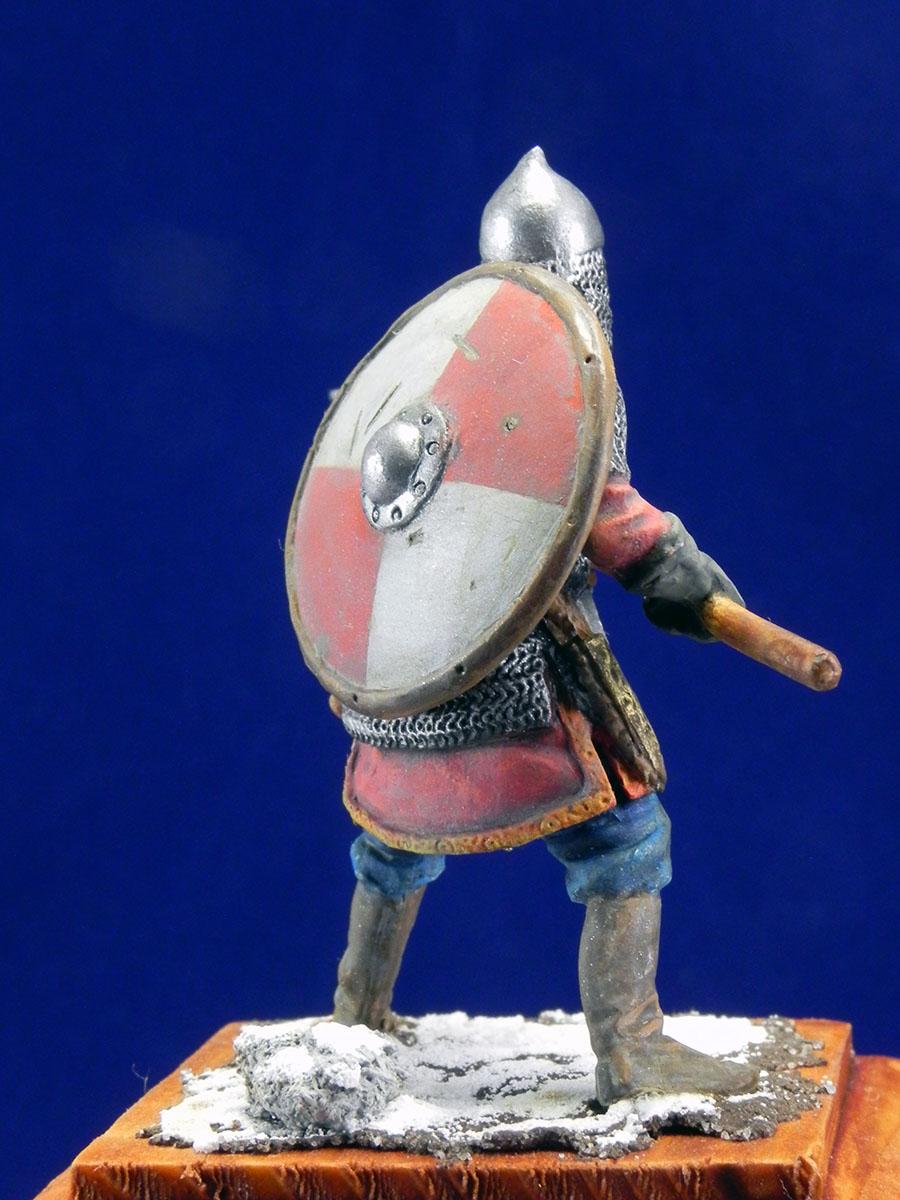Новгородский дружинник, XIII век 10410